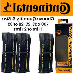 1 or 2 PACK Continental Gatorskin 700 x 23 25 28 or 32 Road