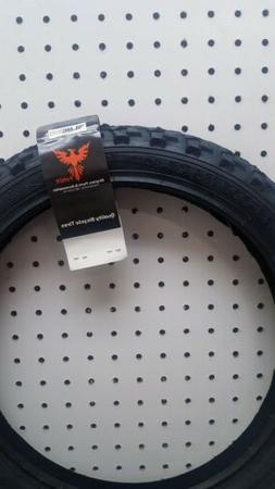 "Wanda 16""x 2.10"" Knobby MTB Mountain Bike Tire Steel Bead Ki"