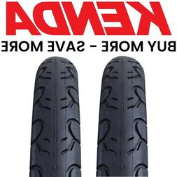 "2 PACK Kenda KWEST 100 PSI 26"" x 1.5"" Bike Tires Fast Slick"