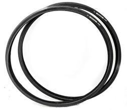 2 QTY Zaffiro 700 x 28c Road Bike Tires Wire Bead Black  NEW
