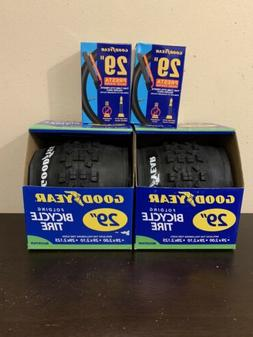 """2 set of Goodyear 29"""" Mountain Bike Folding Bicycle Tire and"""