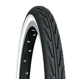 "20"" Bike Clincher Tyre Michelin City'j Wire 20X1.375"" Black/"