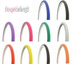 """Duro 26"""" x 1.50"""" BlCYCLE TlRE VlPER SLlCK BlKE FIXIE ALL COL"""