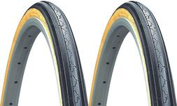 "2PACK Classic KENDA K35 Gumwall 27x1-1/4"" Road Bike Tires 27"