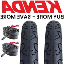 "2PAK KENDA KWEST 26x1.5"" Bike Tires & Tubes  Bicycle 26"" Roa"