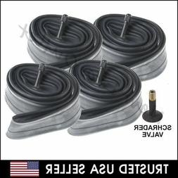 "4 x 24"" inch Inner Bike Tube 24 x 1.75 - 2.125 Bicycle Rubbe"