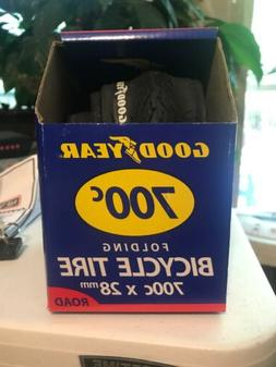 Goodyear 700c x 28mm Folding Bicycle Tire, Road, New in box
