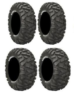 Full set of Maxxis BigHorn Radial 25x8-12 and 25x10-12 ATV T