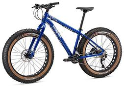 "Mongoose Argus Comp Fat Tire Bicycle 26"" Wheel, Blue, 15 inc"