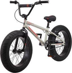Mongoose Argus Toddler/Kids Fat Tire Mountain Bike, 16-20-In