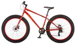 aztec fat tire bicycle red
