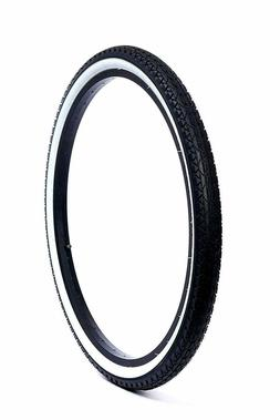 "Beach Cruiser Tires Bicycle Component Parts 26"" X 2.125 Blac"