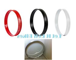 """BICYCLE 26"""" FAT RIM HOOP 36H Black Red White Chrome FOR 26"""""""