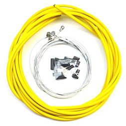 WINOMO Bike Bicycle Brake Cable and Housing Set Stainless St