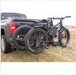Bike Carrier Hitch For 2 Fat Tire Padded Carrier Bicycles Ca