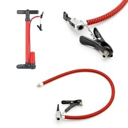 Bike Tyre Hand Air Pump Inflator Replacement Hose Tube Rubbe