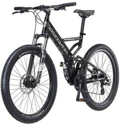 "26"" Mongoose Blackcomb Mountain Bike Black"