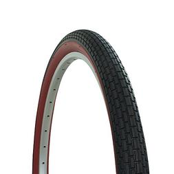 Fenix Brick Tread Beach Cruiser Tire 26in x 2.125in, Black/R