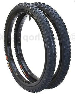 "Cheng Shin C1244 KNOBBY old school BMX bicycle tires 20"" X 1"