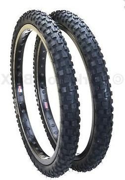 Cheng Shin C183 KNOBBY dirt old school BMX bicycle tires 20""