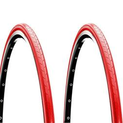 CST C740 Super HP Two Tires Pair 700x25c Red 100 PSI Road Bi