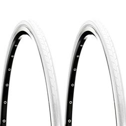 CST C740 Super HP Two Tires Pair 700x23c White 100 PSI Road