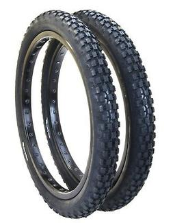 "Cheng Shin C93 KNOBBY TRACTOR TREAD BMX bicycle tires 20"" X"