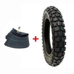 COMBO: Knobby Tire with Inner Tube 3.00 - 12 Front or Rear T