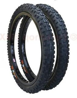 CST C1244 Cheng Shin KNOBBY old school BMX bicycle tires 20""