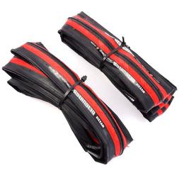 detonator black red 700 x 25c road