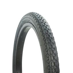 "WANDA DIAMOND BIKE BICYCLE TIRE 20"" x 2.125"" ALL BLACK P-123"
