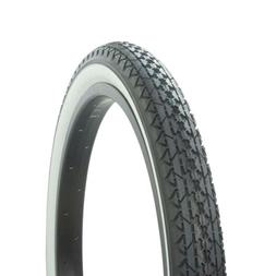 "WANDA DIAMOND BIKE BICYCLE TIRE 20"" x 2.125"" Black/White P-1"