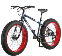 Mongoose Dolomite Fat Tire Bike Navy Blue