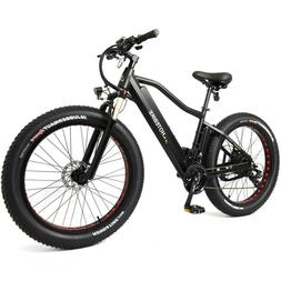 Fat Tire Electric Bicycle Electric Mountain Bike 48V 750W 26