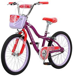 "Schwinn Elm Girl's Bike with SmartStart, 20"" Wheels, Purple"