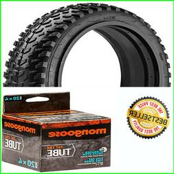 """Fat 20""""x4"""" Heavy Duty Rubber Extended Life Tire + Tube Fits"""