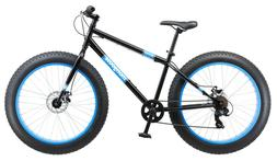 "FAT TIRE BIKE Mens 26"" Mongoose Dolomite 7 Speed Mountain Bi"