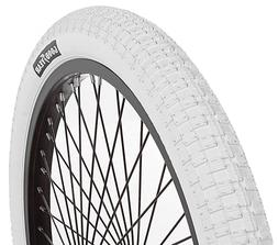 "Goodyear Folding Bead BMX Bike Tire, 20"" x 2.125"", White USA"