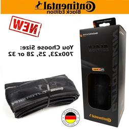 Continental Gatorskin Black Edition 700c 23 25 28 32 Bike Ti