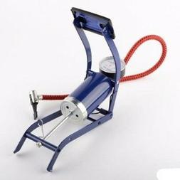 Hand Foot Operated Air Tire Pump for Inflatable Bike Bicycle