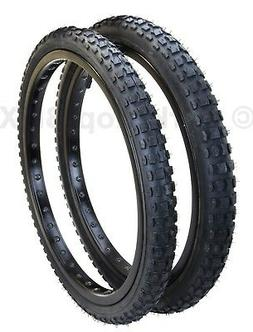 """Kenda K44 KNOBBY dirt old school BMX bicycle tires 20"""" STAGG"""