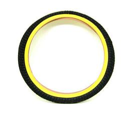 "Kenda Kontact BMX/Kid's Bike Bicycle Tire 20"" x 1.95"" Yellow"