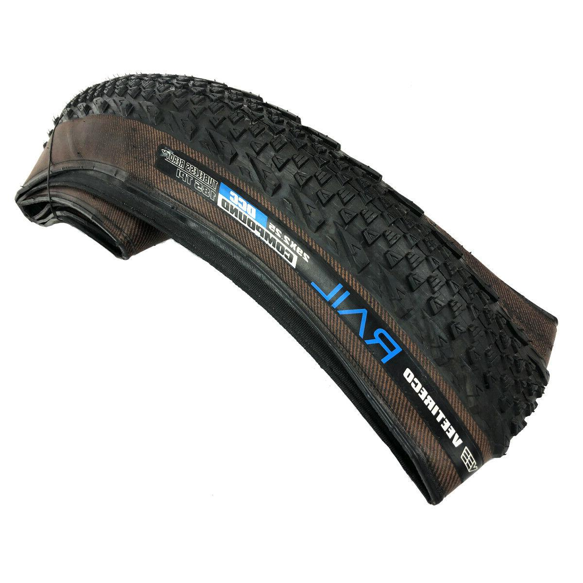 2 Vee Tire 29x2.25 Bike Tires Folding Bead Dual Compound Synthesis
