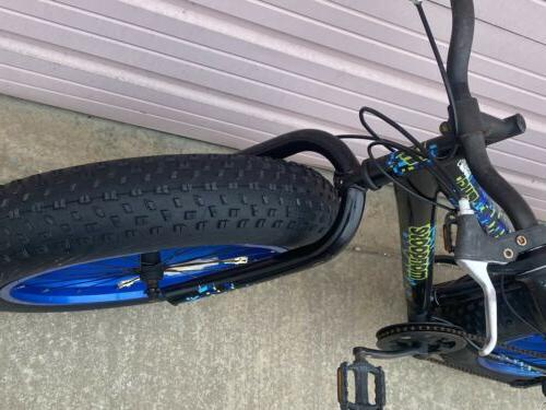 "20"" Boy's Pug Fat Bike NEW ON"
