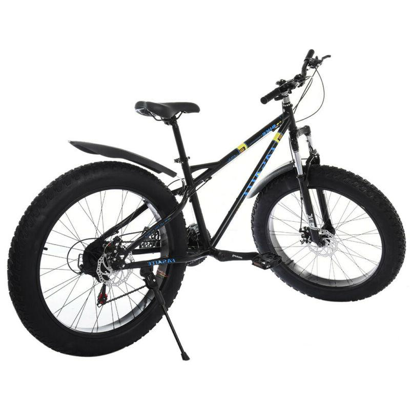 21 Speed Mountain Bicycle 4.0 Fat Tire Bike US