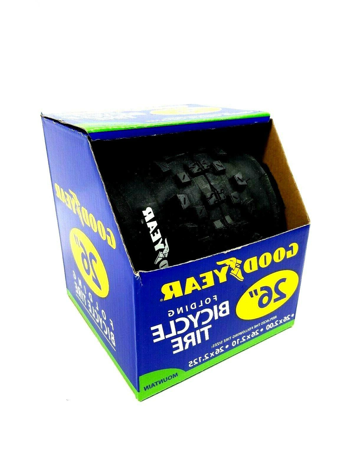 """Goodyear 26"""" or 29"""" Mountain Bike Folding Bicycle Tire NEW Your of"""