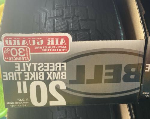 2x Bell 20 inch x Bike Bicycle Tire IN Shipping