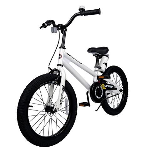 Royalbaby RB18B-6W BMX Freestyle Kids Bikes and training Gifts children, White