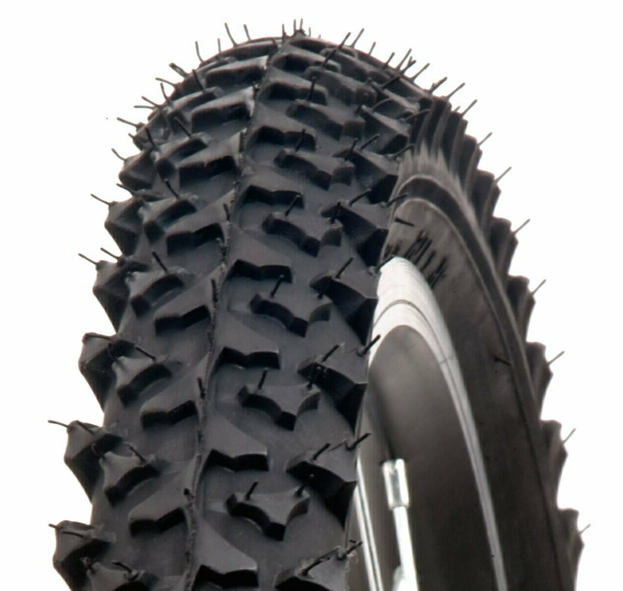 all terrain bicycle tire mtn with puncture