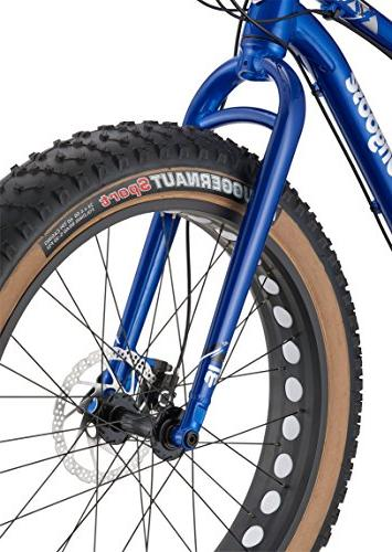 Mongoose Argus Comp Tire Blue, inch/Small